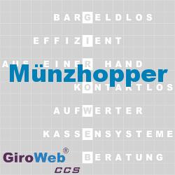 GiroWeb FAQ für Gemeinschaftsverpflegung (GV) & Catering: Was ist ein Münzhopper?