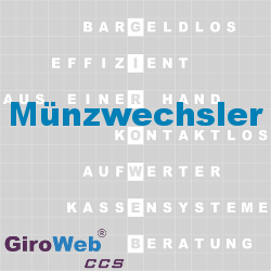 GiroWeb FAQ für Gemeinschaftsverpflegung (GV) & Catering: Was ist ein Münzwechsler?
