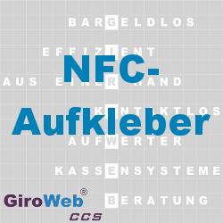 GiroWeb FAQ für Gemeinschaftsverpflegung (GV) & Catering: Was ist ein NFC-Aufkleber?