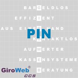 GiroWeb FAQ für Gemeinschaftsverpflegung (GV) & Catering: Was ist eine Personal Identification Number (PIN)?
