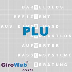 GiroWeb FAQ für Gemeinschaftsverpflegung (GV) & Catering: Was ist PLU?