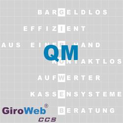 GiroWeb FAQ für Gemeinschaftsverpflegung (GV) & Catering: Was heißt QM?