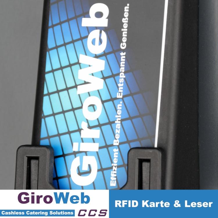 GiroWeb-FAQ in der Praxis: Kantinen-Karte am Aufwerter