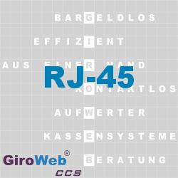 GiroWeb FAQ für Gemeinschaftsverpflegung (GV) & Catering: Was ist RJ-45?