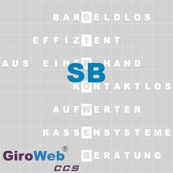 GiroWeb FAQ für Gemeinschaftsverpflegung (GV) & Catering: Was heißt SB?