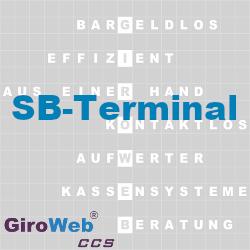 GiroWeb FAQ für Gemeinschaftsverpflegung (GV) & Catering: Was ist ein SB-Terminal?