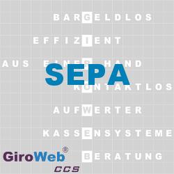GiroWeb FAQ für Gemeinschaftsverpflegung (GV) & Catering: Was ist SEPA?