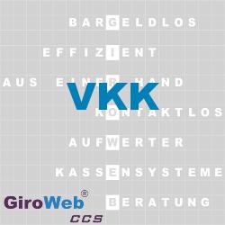 GiroWeb FAQ für Gemeinschaftsverpflegung (GV) & Catering: Was ist VKK?