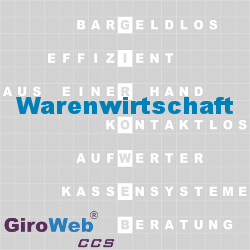 GiroWeb FAQ für Gemeinschaftsverpflegung (GV) & Catering: Was ist Warenwirtschaft?