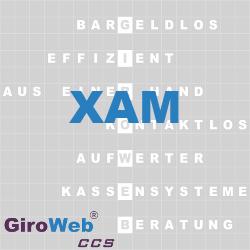 GiroWeb FAQ für Gemeinschaftsverpflegung (GV) & Catering: Was ist XAM?