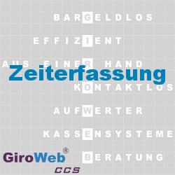 GiroWeb FAQ für Gemeinschaftsverpflegung (GV) & Catering: Was ist Zeiterfassung?