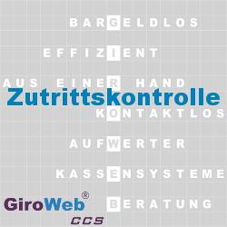 GiroWeb FAQ für Gemeinschaftsverpflegung (GV) & Catering: Was ist Zutrittskontrolle?