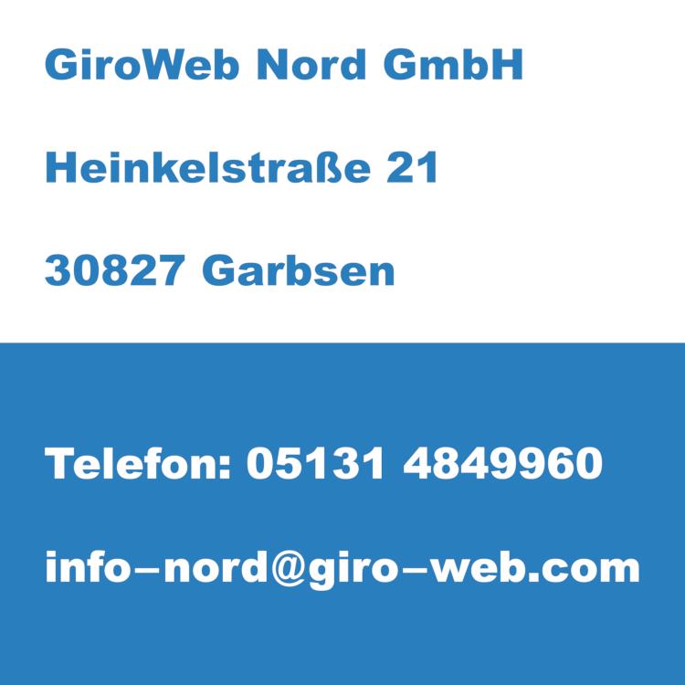 Firma GiroWeb Nord GmbH in Garbsen (Hannover), Niedersachsen | Kontakt-Daten für Termin-Anfragen