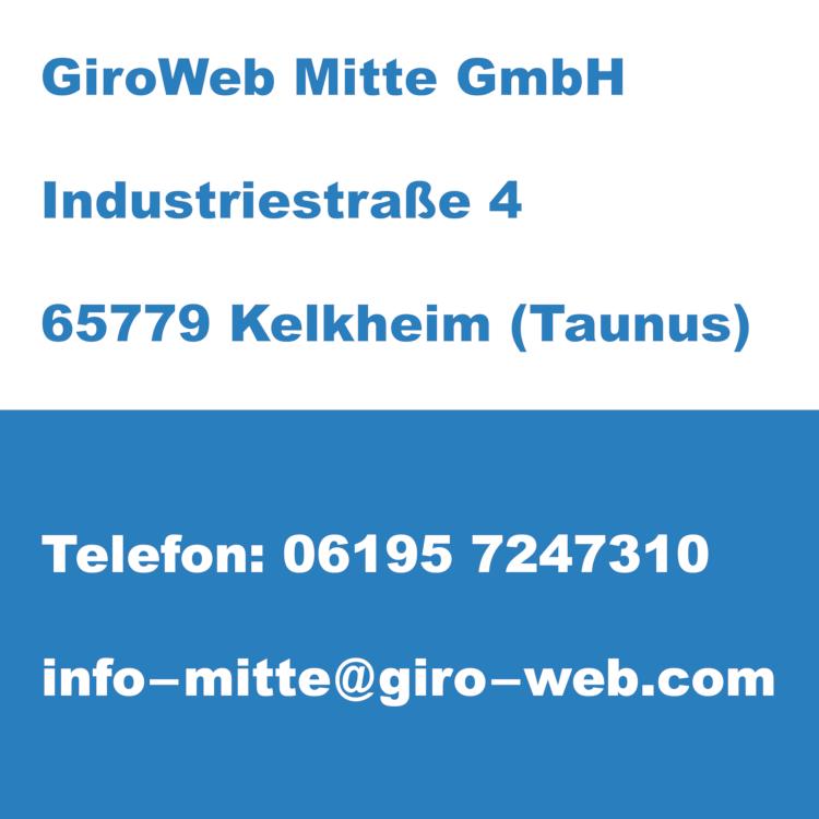 Firma GiroWeb Mitte GmbH in Kelkheim (Taunus), Hessen | Kontakt-Daten für Termin-Anfragen