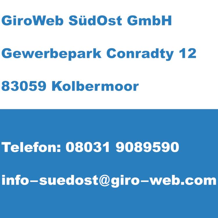 Firma GiroWeb SüdOst GmbH in Kolbermoor, Bayern | Kontakt-Daten für Termin-Anfragen