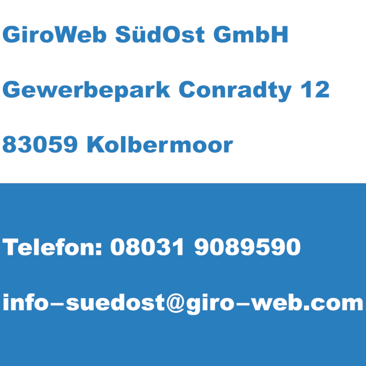 Firma GiroWeb SüdOst GmbH, Kolbermoor, Bayern