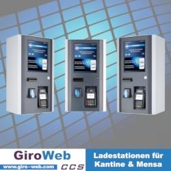 GiroWeb Ladestationen für Kantine & Mensa