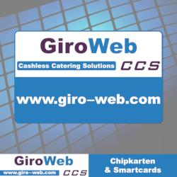 GiroWeb Chipkarten für bargeldlose Gastronomie