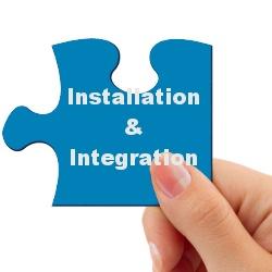 Produkte & Leistungen: Installation & Integration