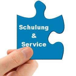 Produkte & Leistungen: Schulung & Service
