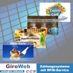 GiroWeb Zahlungssysteme mit RFID-Service